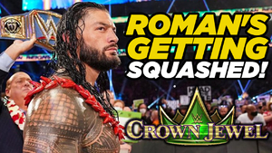Roman Reigns squashed
