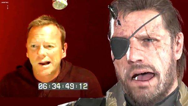 Kiefer Sutherland Metal Gear Solid